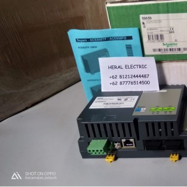 Jual ACE850FO Schneider 2 Ethernet ports interface 100BASE-FX HERAL ELECTRIC
