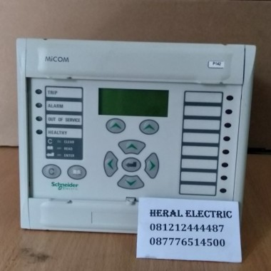 jual micom P142 schneider Feeder overcurrent  protection HERAL ELECTRIC