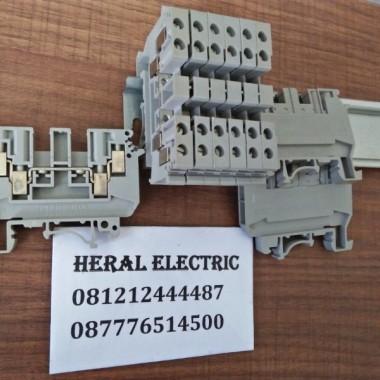 jual terminal blok UDK4 phoenix contact HERAL ELECTRIC