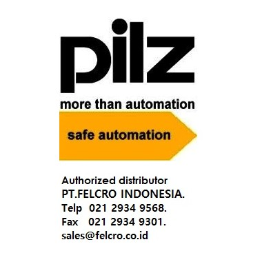 Pilz safety controllers| Distributor| PT.Felcro Indonesia| 021 2934 9568|sales@felcro.co.id Amotroni