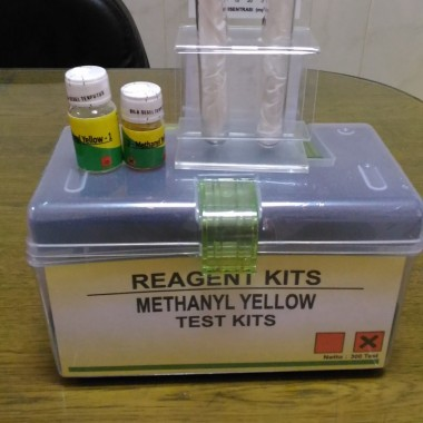 METHYLL YELLOW TEST KIT || JUAL METHYILL YELLOW KIT INSTRUMENT LINGKUNGAN