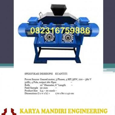 DOUBLE ROLL CRUSHER KARYA MANDIRI ENGINEERING
