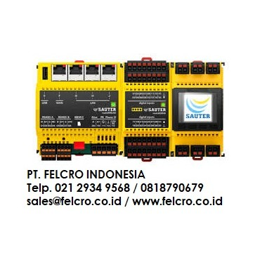 Sauter -Controls GmbH| PT.Felcro Indonesia| 021 29349568| sales@felcro.co.id Felcro