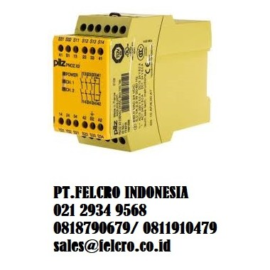 Jual Pilz - safety relays PNOZ sigma| PT.FELCRO INDONESIA |0818790679