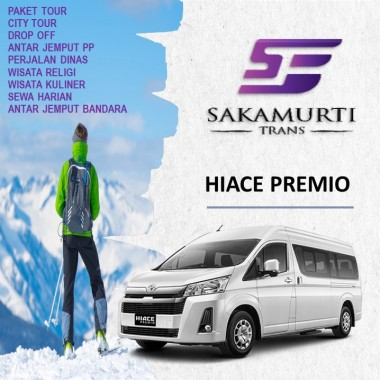 Sewa Hiace City Tour Jogja