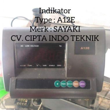 INDIKATOR  A12E  MERK GRAINS  - CV. CIPTA INDOTEKNIK  CIPTA INDO TEKNIK
