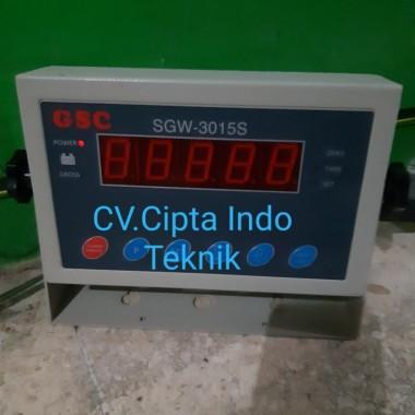 JUAL  INDIKATOR  TIMBANGAN  SGW 3015 S  MERK GSC  CIPTA INDO TEKNIK