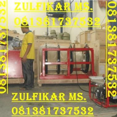 JUAL MESIN HDPE 160 2 CLAM indah tata sarana