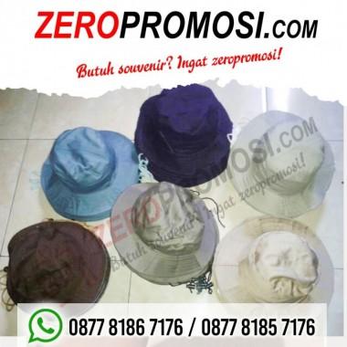 Souvenir Topi gunung dan topi rimba promosi Berkat Usaha Maju