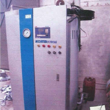 Steam Boiler used   750 kph   Samson Booster Samson Djawa Perkasa