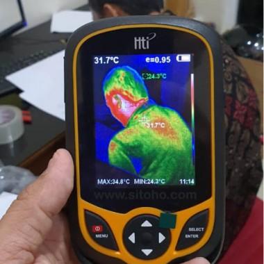 Thermal Imaging Camera HT-AI | Alat ukur suhu tubuh | Jual alat ukur panas tubuh manusia, Indonesia