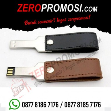 Souvenir flashdisk kulit kunci FDLT25 Berkat Usaha Maju
