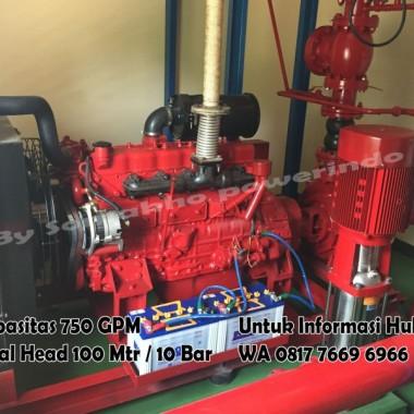 Hydrant Fire Pump 750 GPM Garansi 10 Tahun