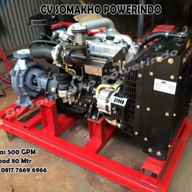 Diesel Fire Pump 500 GPM Garansi 10 Tahun