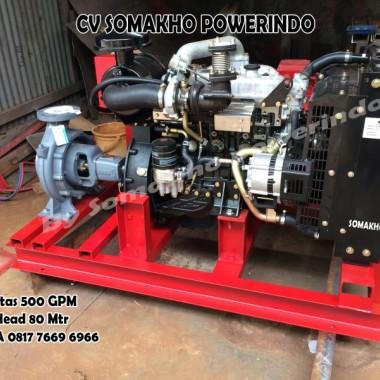 Hydrant Fire Pump 500 GPM Garansi 10 tahun