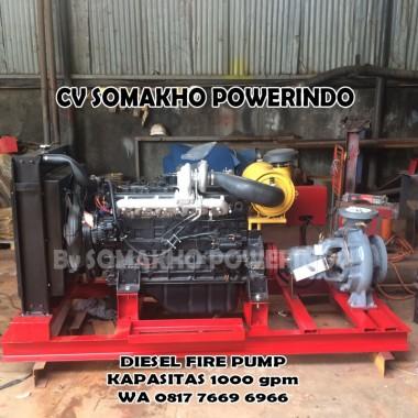 Hydrant Fire Pump 1000 GPM Garansi 10 tahun