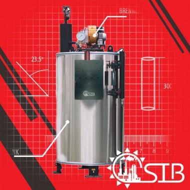 Steam Boiler SSBV-100 - Samson Indonesia Boiiler - 100 kg/hr Samson Djawa Perkasa