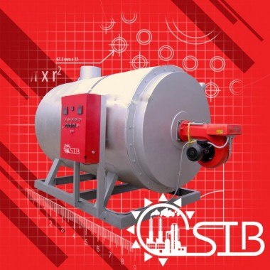 Steam Boiler SSBH-1T - Samson Indonesia Boiiler - 1000 kg/hr Samson Djawa Perkasa