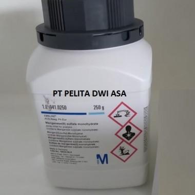 Manganese(II) - Mangan sulfate monohydrate 250 gr - MERCK 1.05941 PELITA DWI ASA