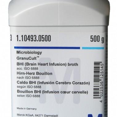 Brain Heart Infusion (BHI) Broth 500 gr - MERCK Cat. 1.10493 PELITA DWI ASA