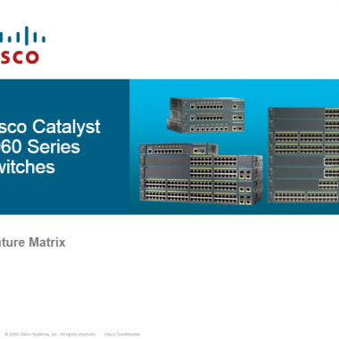 CISCO WS-C2960 Series