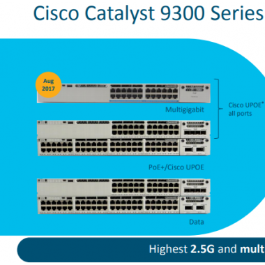 CISCO WS-C9300 Series PT. VISINDO GLOBAL TEKNOLOGI