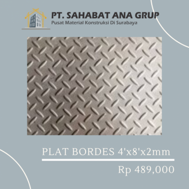 Plat Bordes 4ftx8ftx2mm