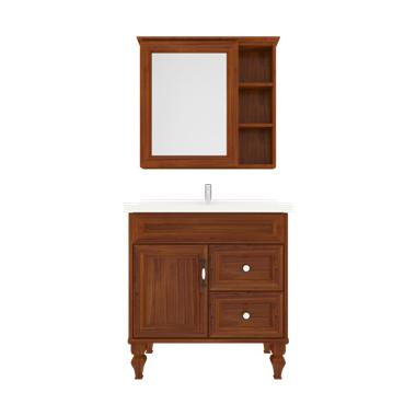 Shunda Cabinet PVC - Floor Standing - Brown Alder - K80B-0202