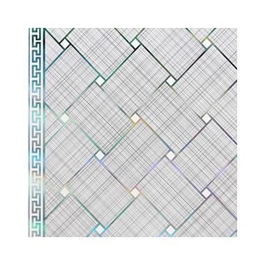 Shunda Plafon PVC - Mozaic - Silver Woven Pattern - PL 2515