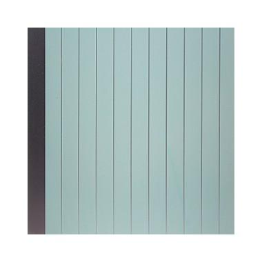 Shunda Plafon PVC - Modern Linears - Sky Blue With Silver Lines - PL 08.006 PL 10.006