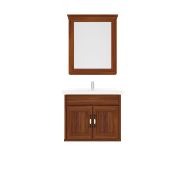 Shunda Cabinet PVC - Wall Mounted - Brown Alder - G60A-0201