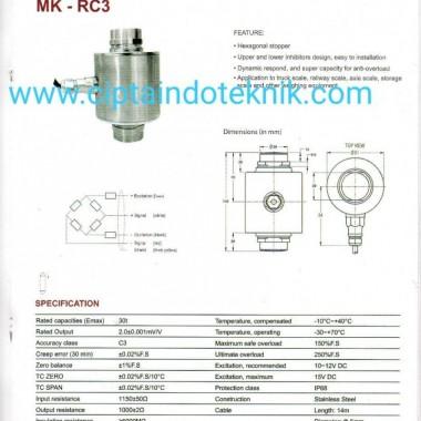 LOAD CELL MK - RC3 30 T MERK MK CELLS