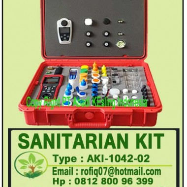 SANITARIAN KIT Type AKI-1042-02