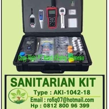 SANITARIAN KIT, type AKI-1042-18