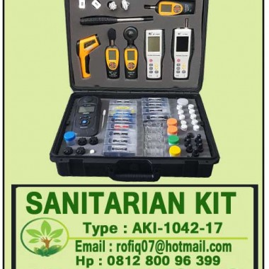 SANITARIAN KIT type : AKI-1042-17