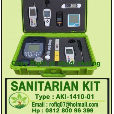 SANITARIAN KIT FOR PUSKESMAS, AKI-1410-1