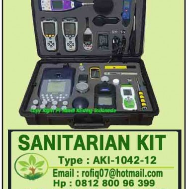 DIGITAL SANITARIAN FIELD KIT FOR PUSKESMAS, AKI-1042-12