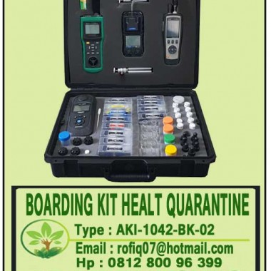BOARDING KIT HEALT QUARANTINE, type : AKI-1042-BK-02