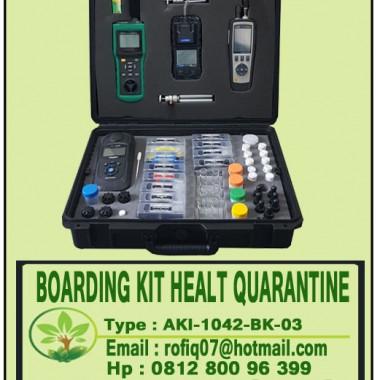BOARDING KIT HEALT QUARANTINE, type : AKI-1042-BK-03