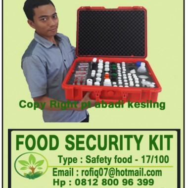 REFFIL REAGENT FOOD SECURITY PAKET 100 DAN 300 TEST