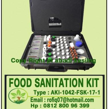 FOOD SANITATION KIT, type : AKI-1042-FSK-17-1