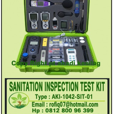 SANITATION INSPECTION TEST KIT, type : AKI-1042-SIT-01