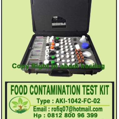 FOOD CONTAMINATION KIT (FOSANTE - FCT/D)
