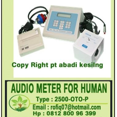 AUDIO METER FOR HUMAN type : 2500-OTO-P