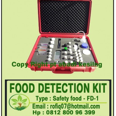 FOOD DETECTION KIT, Type : Safety food - FD-1