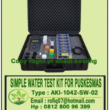 SIMPLE WATER TEST KIT FOR PUSKESMAS  type : AKI-1042-SW-02