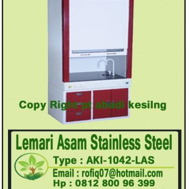 Lemari Asam Stainless Steel, type : AKI-1042-LAS