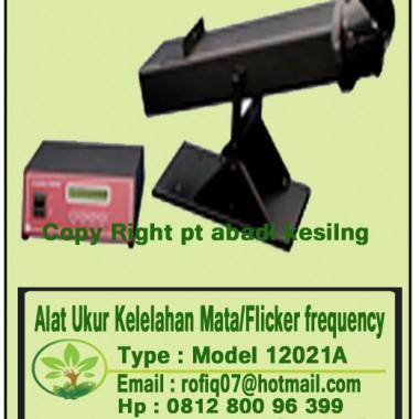Alat Ukur Kelelahan Mata/Flicker frequency, type : Model 12021A