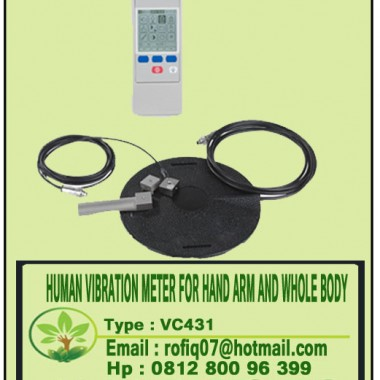 HUMAN VIBRATION METER FOR HAND ARM AND WHOLE BODY