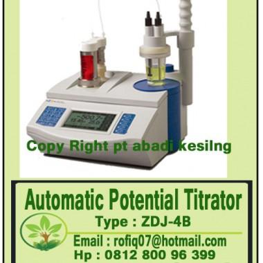 Automatic Potential Titrator Type : ZDJ-4B